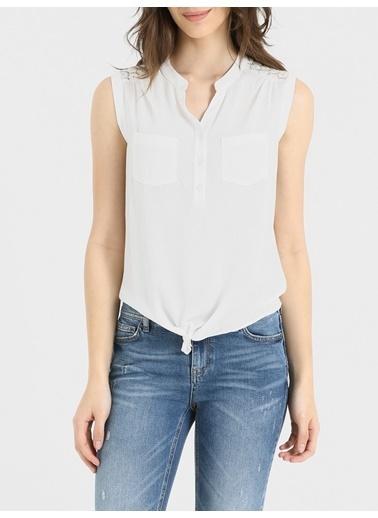 Loft Bluz Beyaz